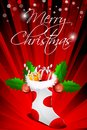 Abstract merry christmas card Royalty Free Stock Images
