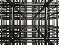 Abstract Metal Construction Stock Images
