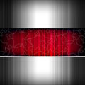 Abstract metal stars background, metallic and red. Royalty Free Stock Photos