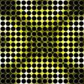 Abstract metallic circles