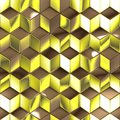 Abstract metallic cubes technology background for creative tasks Royalty Free Stock Image