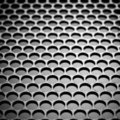 Abstract metallic grid Stock Photo