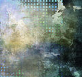 Abstract mixed media background created by combining different layers of paint Royalty Free Stock Photography