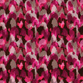Abstract modern bright pink seamless web or fabric design pattern Royalty Free Stock Image