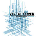 Abstract modern cover with text and heading. Technology or business Royalty Free Stock Photo