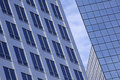 Abstract of Modern Glass Office Building Royalty Free Stock Image