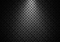 Abstract modern grey perforated metal plate texture