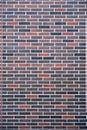 Abstract modern multicolor brick wall background texture. Multicolor blocks masonry horizontal architecture wallpaper Royalty Free Stock Photo