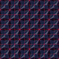 Abstract modern wire seamless background 3d rendering