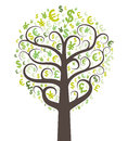 Abstract money tree Royalty Free Stock Photography