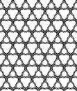 Abstract monochromatic seamless pattern Stock Photos