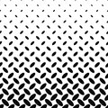 Abstract monochrome diagonal ellipse pattern Royalty Free Stock Photo