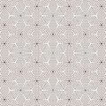 Abstract monochrome flowered halftone background