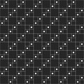 Abstract monochrome minimalistic pattern.