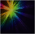 Abstract mosaic light background wiht color spotlight Stock Photo