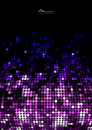 Abstract mosaic pink glitter background Royalty Free Stock Images