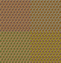 Abstract mosaic seamless background this is file of eps format Royalty Free Stock Images