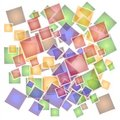 Abstract Mosaic Tiles Pattern Stock Photos