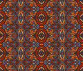 Abstract mosaic  vintage ethnic seamless pattern Royalty Free Stock Photo