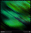 Abstract motion green background vector Stock Photography