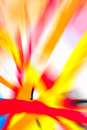 Abstract multicolored background rays of colorful radial blur streaks light sunburst or starburst versicolor light digitally Royalty Free Stock Photos
