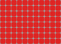 Abstract multicolored illustration. Red squares on a light background. Seamless pattern. Mosaic background texture Royalty Free Stock Photo