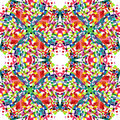Abstract Multicolored Kaleidos...