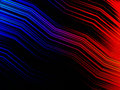 Abstract multicolors zigzag strip background vector of multicolor Royalty Free Stock Photography