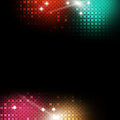Abstract music background multicolor party event Royalty Free Stock Photos