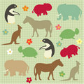 Abstract natural animal pattern Royalty Free Stock Photos