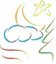 Abstract Nature Logo