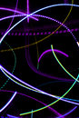 Abstract Neon Lights