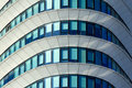 Abstract office detail of an modern building almost lines and shapes Royalty Free Stock Image