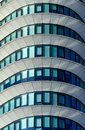 Abstract office detail of an modern building almost lines and shapes Stock Images