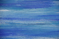 Abstract oil painting on canvas, Blue colored background Royalty Free Stock Photo