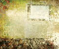 Abstract the old grunge wall Royalty Free Stock Photo