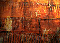 Abstract the old grunge wall Royalty Free Stock Images