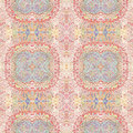 Abstract old shabby ethnic pastel  pattern Royalty Free Stock Photo