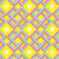 Abstract Optical Illusion Seamless Pattern Stock Images