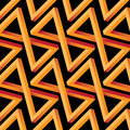 Abstract Optical Illusion Seamless Pattern Royalty Free Stock Photography