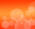 Abstract orange background with particles .holiday card Royalty Free Stock Photos