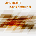 Abstract orange geometric overlapping design background