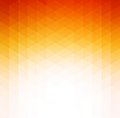 Abstract Orange Geometric Tech...