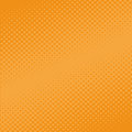 An abstract orange halftone background Royalty Free Stock Photo