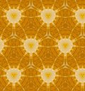 Abstract orange seamless pattern