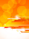 Abstract orange tech background bright illustration Stock Photos