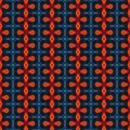 Abstract orange texture or background with detailed pattern made seamless Royalty Free Stock Photo