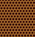 Abstract orange and yellow pattern background wallpaper Stock Images