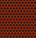 Abstract orange and yellow pattern background wallpaper Stock Photo