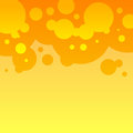 Abstract orange and yellow round bubbles background rgb eps Royalty Free Stock Image